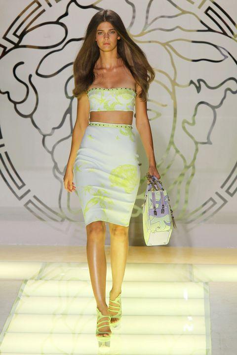 versace   milan fashion week womenswear springsummer 2012
