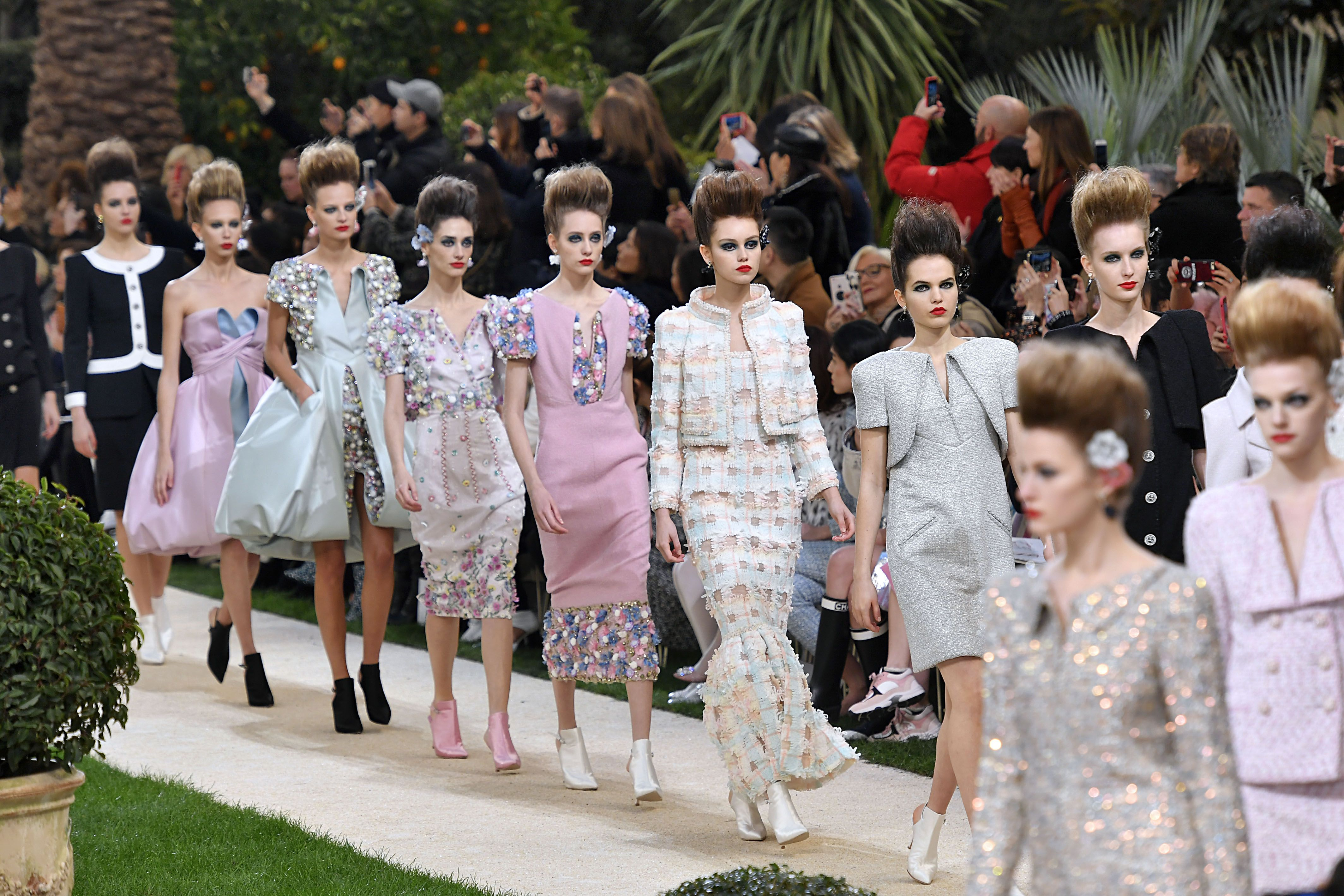 Why Karl Lagerfeld Was Missing from the Chanel Couture