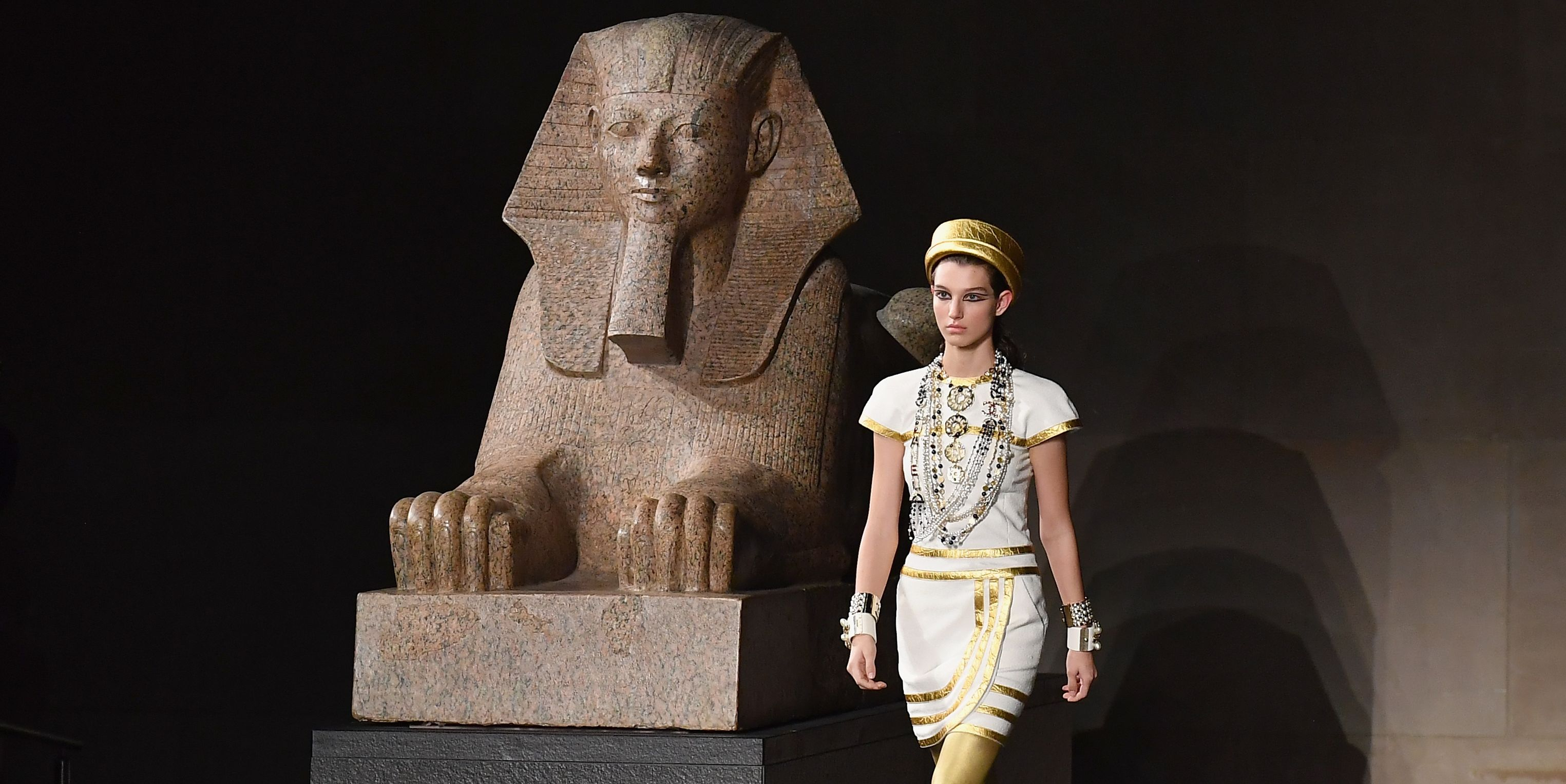 Chanel Draws Inspiration from Ancient Egypt for Its Metier d'arts Show
