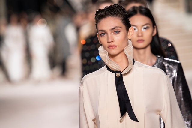 chanel metiers d'art 2019 2020  runway at le grand palais in paris
