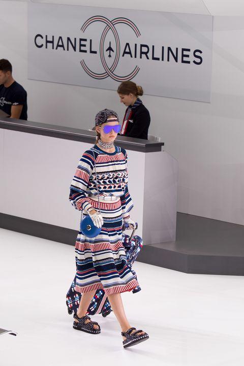 france   chanel   paris fashion week womenswear springsummer 2016