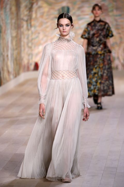 christian dior  runway   paris fashion week   haute couture fallwinter 20212022