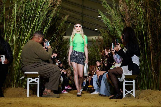 coperni runway paris fashion week  womenswear spring summer 2022