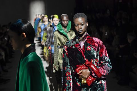 dries van noten  runway   paris fashion week womenswear fallwinter 20202021