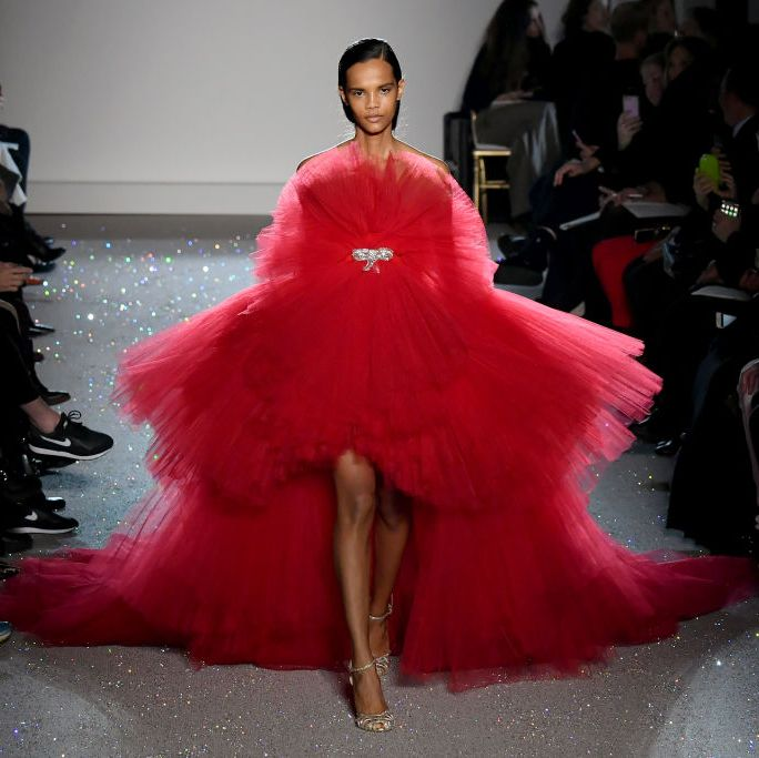 Giambattista Valli : Runway - Paris Fashion Week - Haute Couture Spring Summer 2019