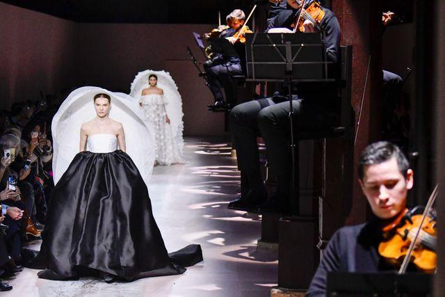givenchy  runway   paris fashion week   haute couture springsummer 2020