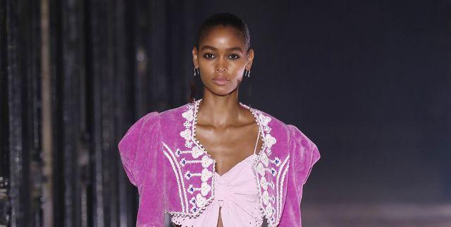 isabel marant  runway   paris fashion week  womenswear spring summer 2021