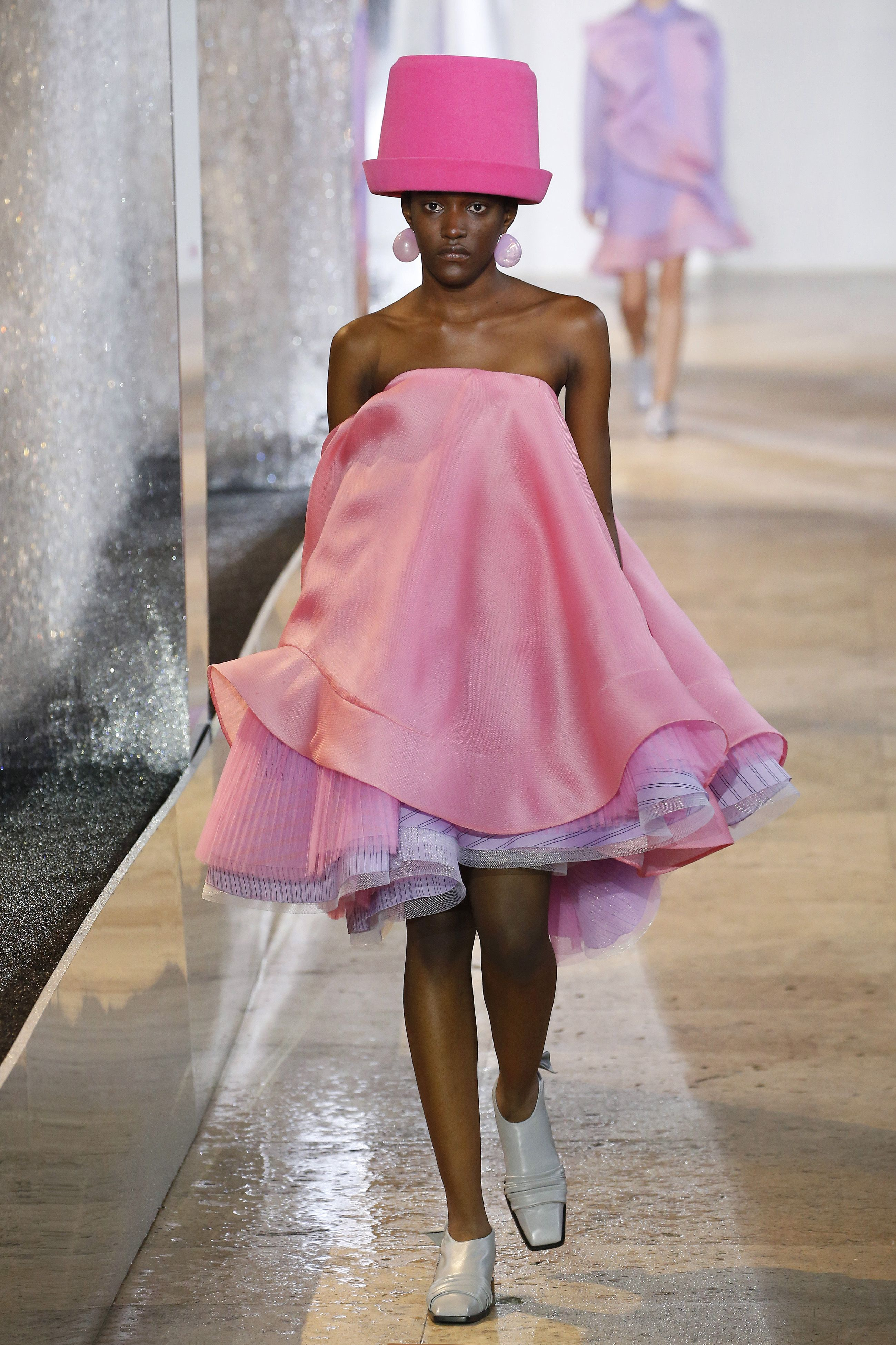Nina Ricci Sent Actual Bucket Hats Down The Runway At Paris Fashion Week