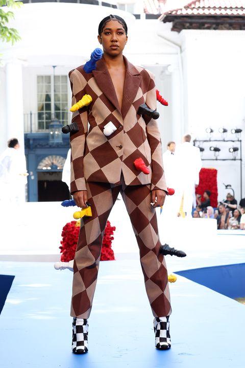 pyer moss couture runway paris fashion week