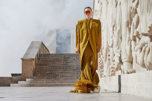 rick owens  runway   paris fashion week   womenswear spring summer 2022