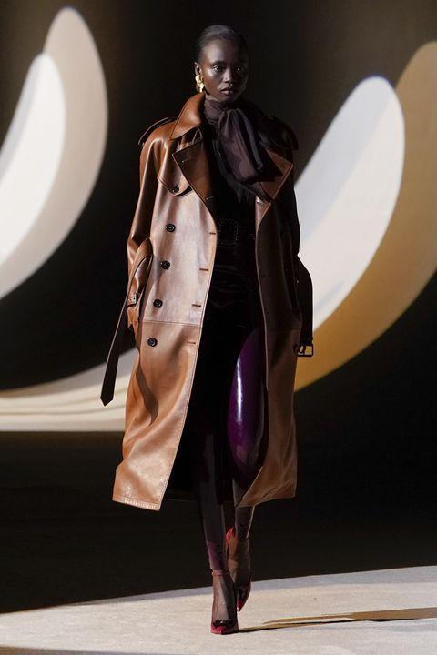 saint laurent  runway   paris fashion week womenswear fallwinter 20202021
