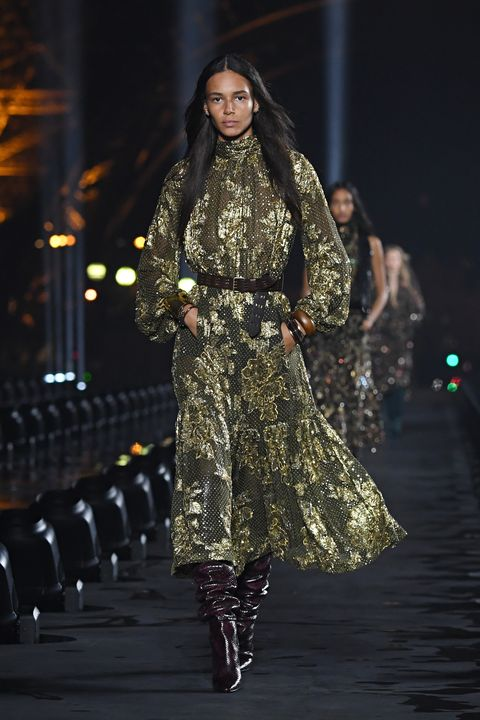 saint laurent  runway   paris fashion week   womenswear spring summer 2020