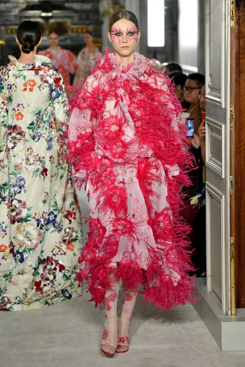 Valentino : Runway - Paris Fashion Week - Haute Couture Spring Summer 2019
