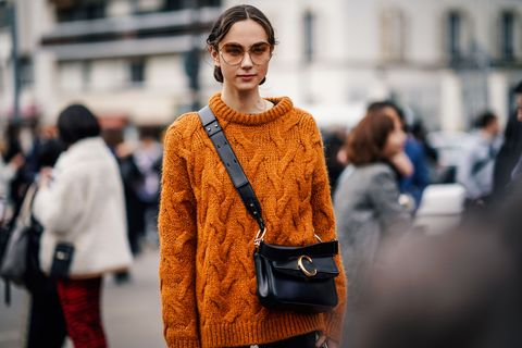 Street Style - Paris Fashion Week Womenswear Fall/Winter 2019/2020 : Day Four