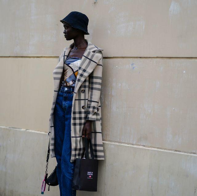 street style at paris fashion week   womenswear spring summer 2021  day three