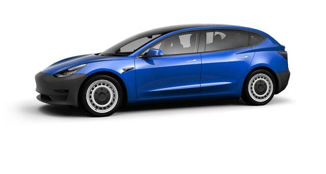 2023 tesla model 2 rendering