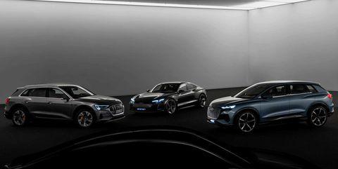 Audi eléctricos 2025