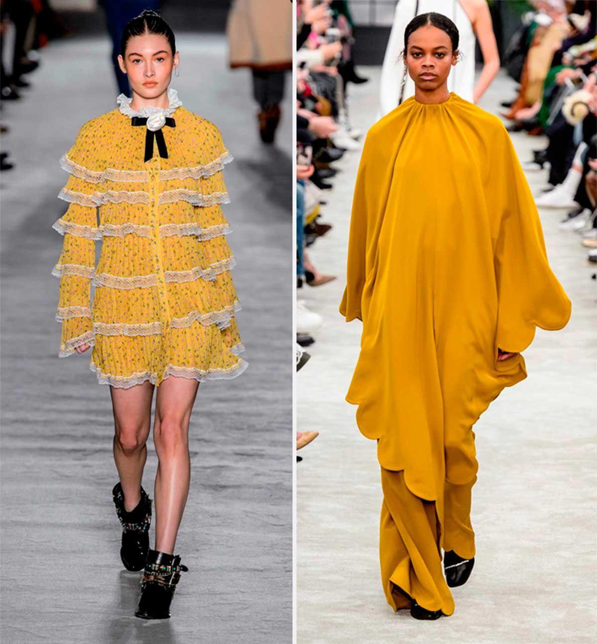 Philosophy y Valentino se apuntan al color mostaza, el tono del otoño