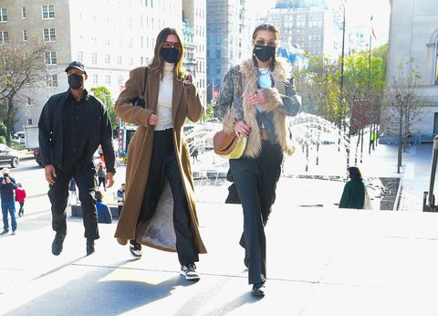 celebrity sightings in new york city   november 19, 2020
