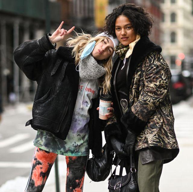 street style   february 2021   new york fashion week the shows おしゃれスナップ、モデル