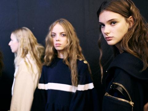 Sonia Rykiel : Backstage - Paris Fashion Week Womenswear Spring/Summer 2017