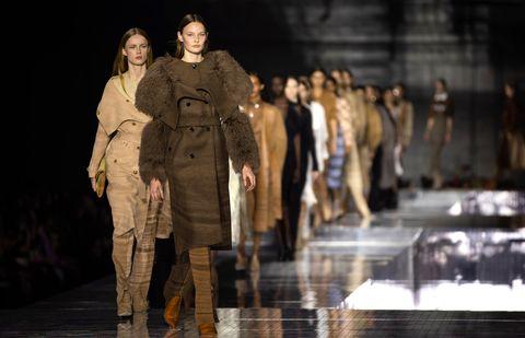 Burberry Show - London Fashion Week February 2020