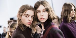 Akris: Backstage - Paris Fashion Week Womenswear Fall/Winter 2017/2018