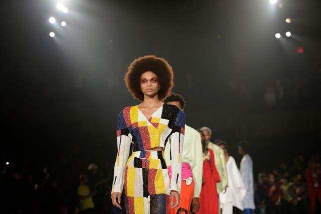 pyer moss runway september 2019 new york fashion week the shows