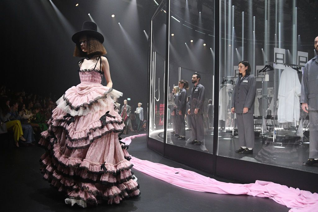 Gucci Blends Sweet and Sinister Motifs with Its Fall 2020 Collection