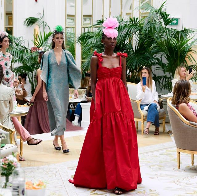 jorge vazquez catwalk  mercedes benz fashion week madrid september 2021