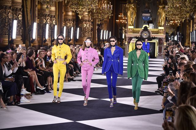 balmain  runway   paris fashion week   womenswear spring summer 2020