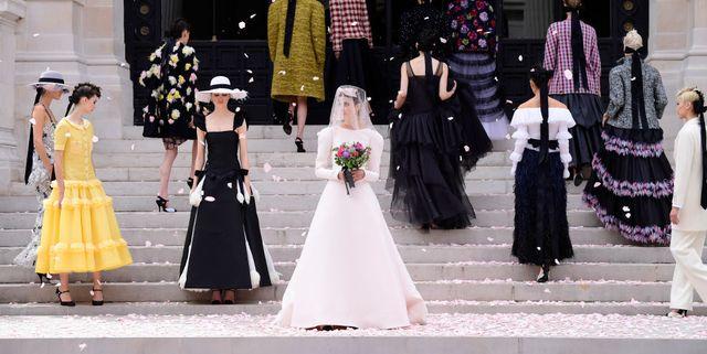 chanel  runway  paris fashion week  haute couture fallwinter 20212022