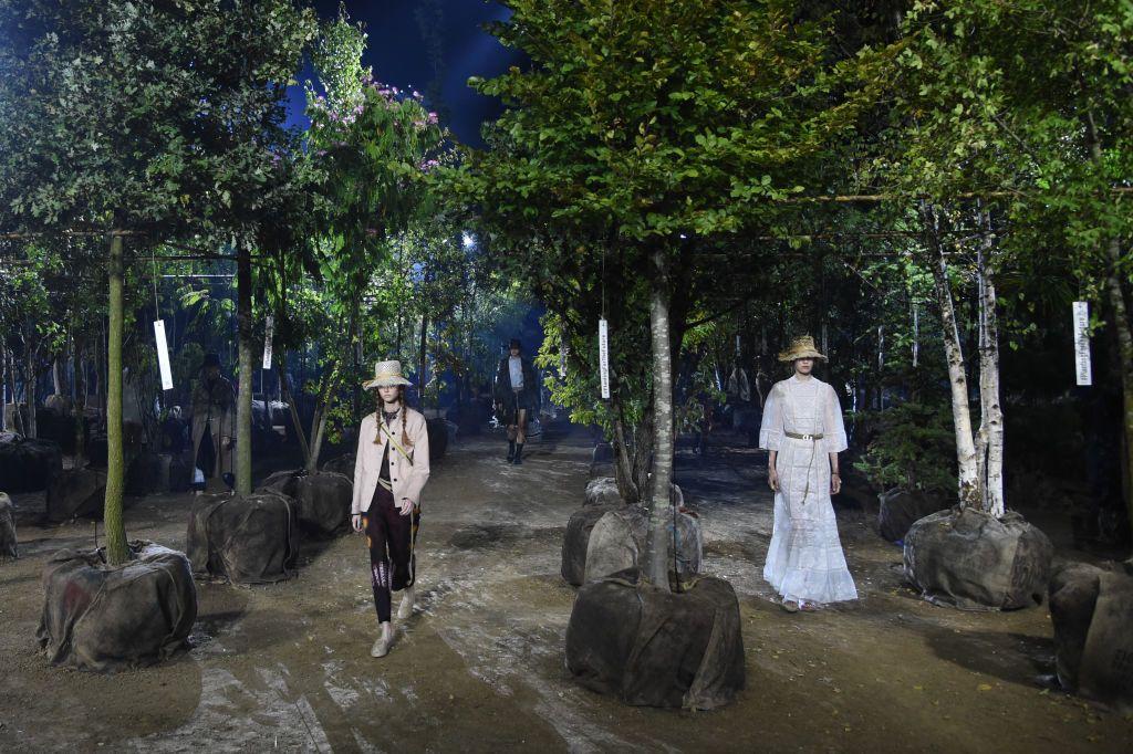 Maria Grazia Chiuri created an inclusive garden for Dior spring/summer 2020