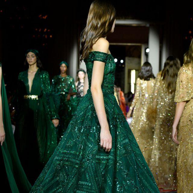 zuhair murad  runway   paris fashion week   haute couture fallwinter 20192020