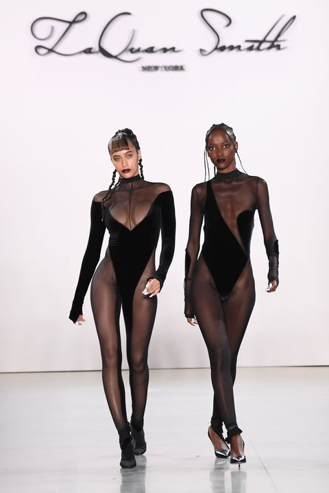 laquan smith   runway   february 2020   new york fashion week the shows