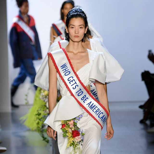 prabal gurung runway   september 2019  new york fashion week the shows