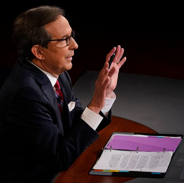 Chris Wallace First Presidential Debate Moderator Reactions 2020