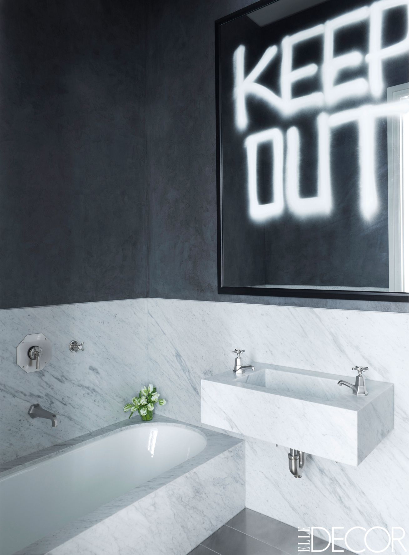 contemporary bathrooms - modern bathroom ideas