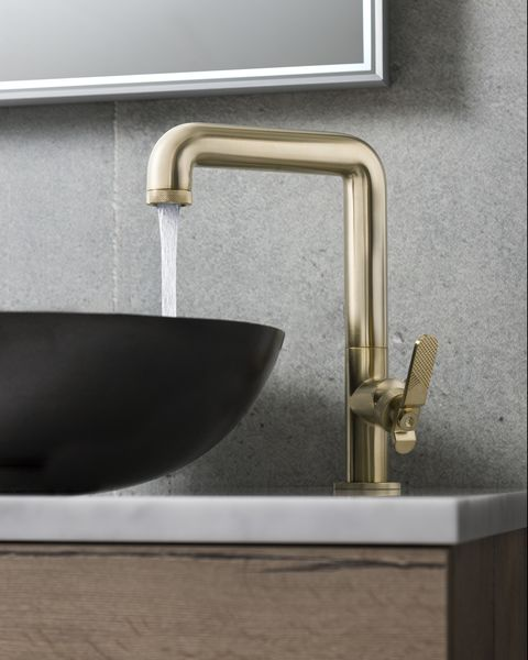 union brass tall basin mixer £595