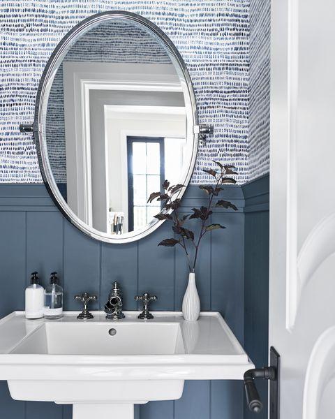28 Bathroom Wallpaper Ideas Best, Wallpaper Bathroom Ideas