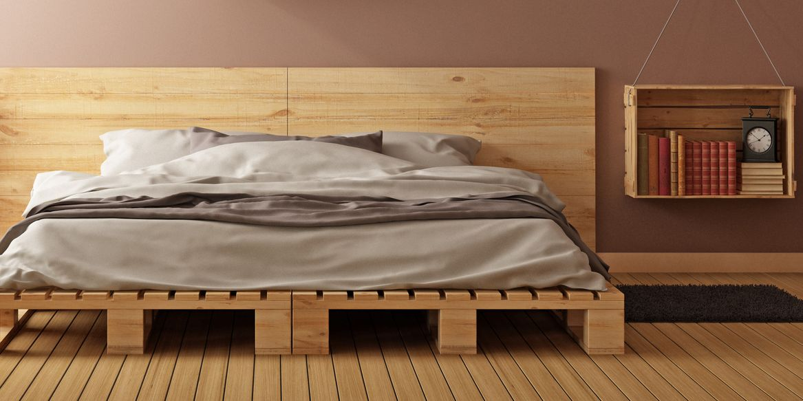Diy Pallet Bed Frame Guide And