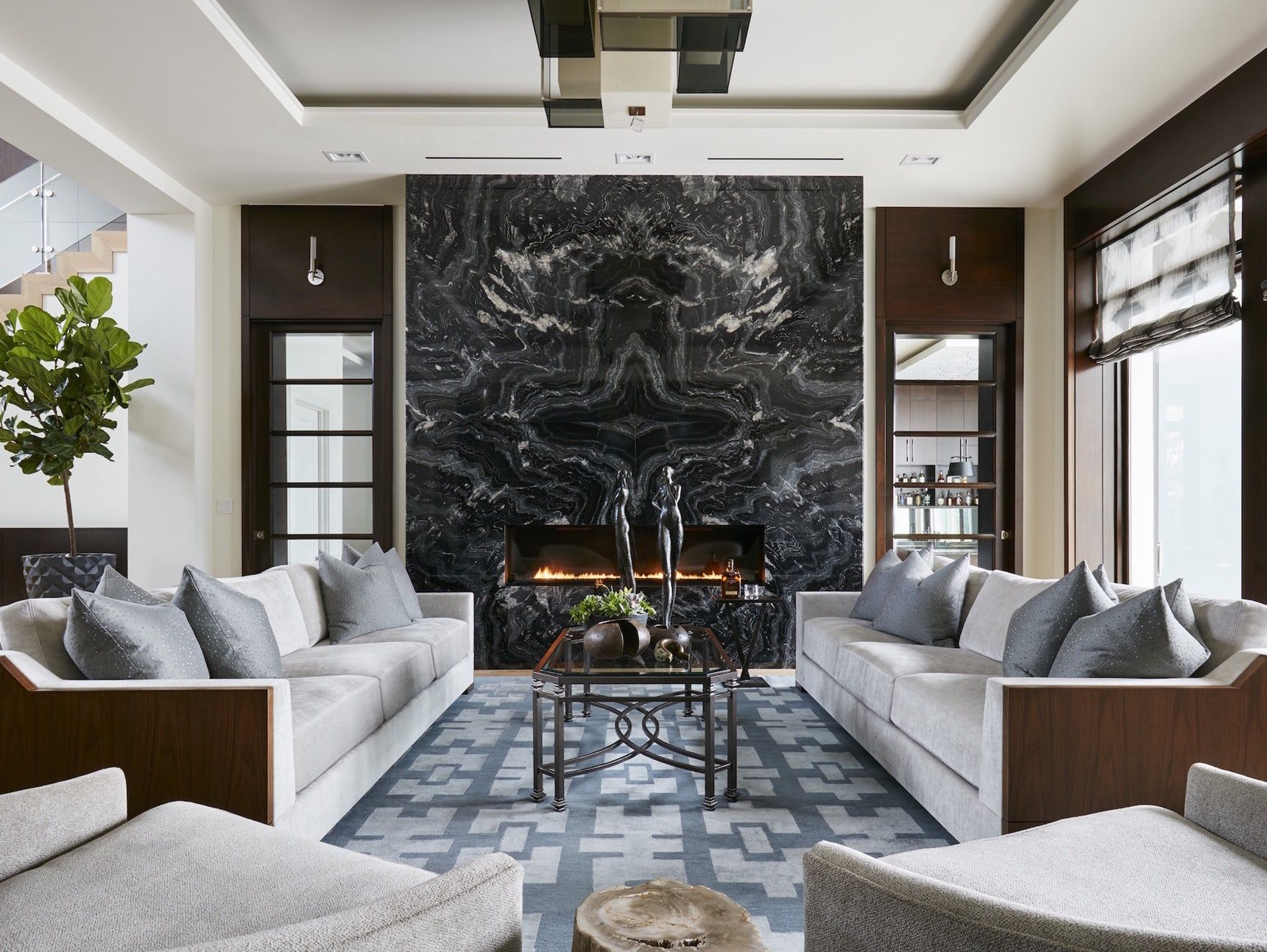 Amazing Living Room Fireplace Ideas Painting
