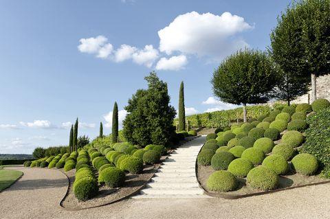 castle garden of amboise