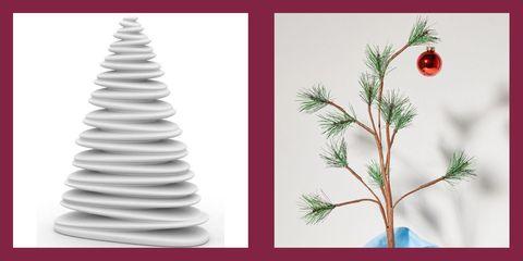 best modern christmas trees