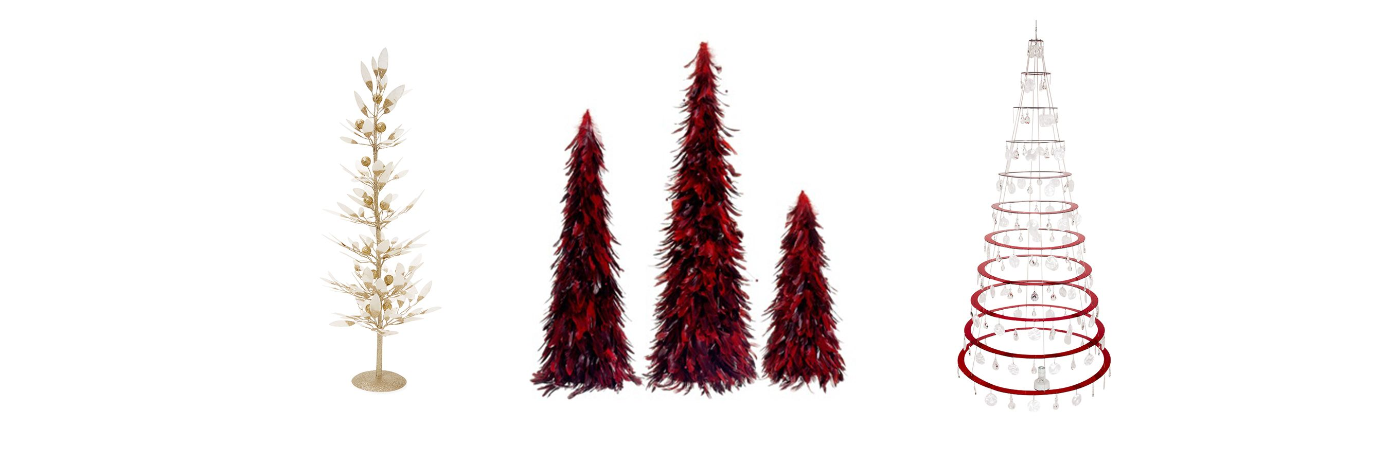 27 Modern Christmas Trees For Holiday Decorations - Contemporary ...