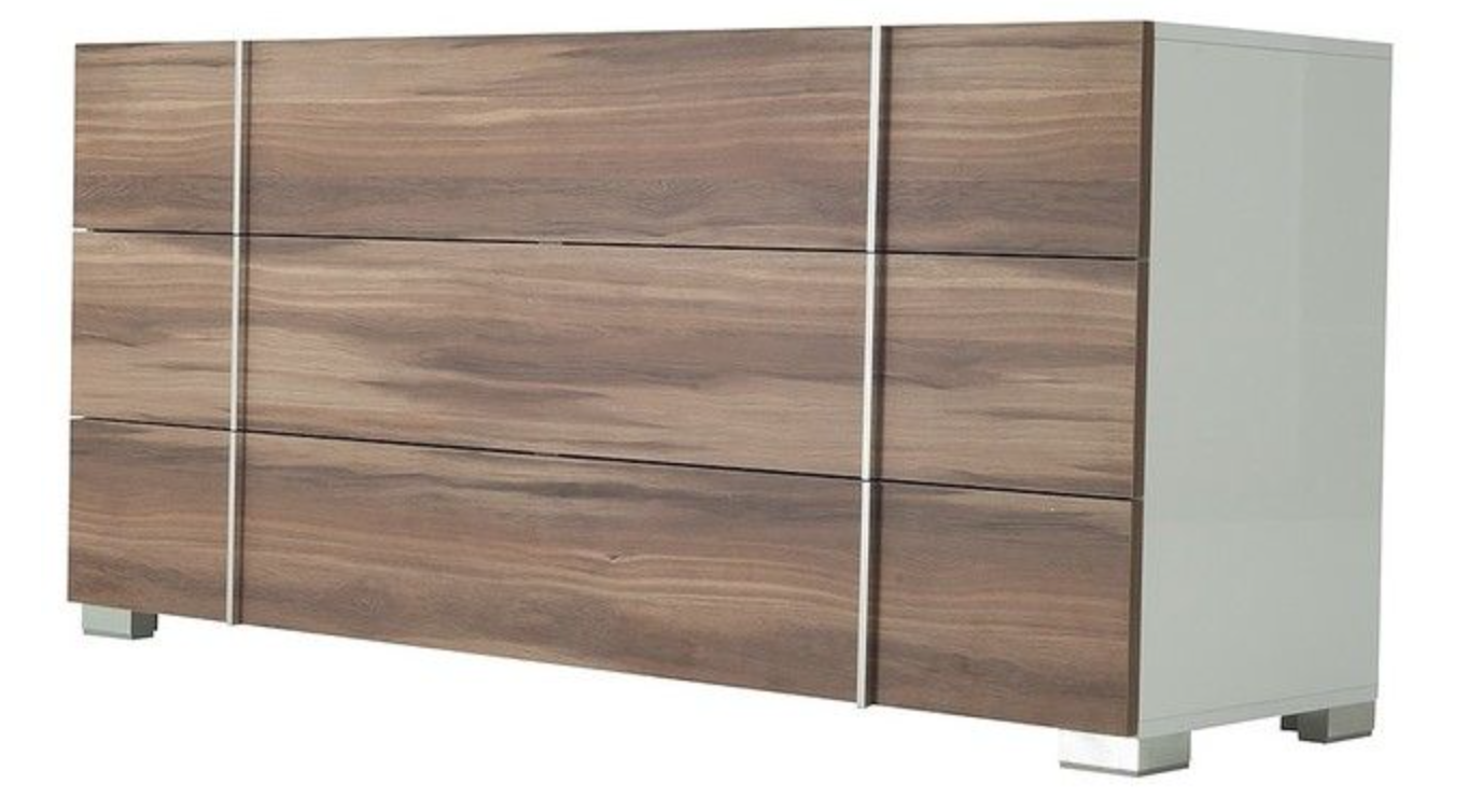 dresser contemporary furnishings and mirror dsc infinity modern