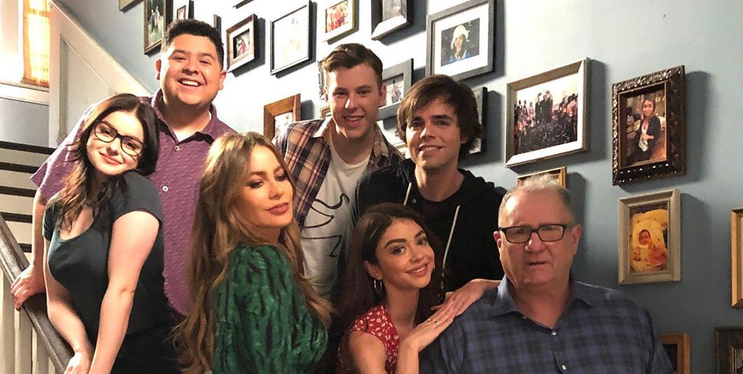 Modern Family cast share photos from final day of filming