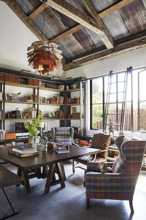 Antique Home Library: 25 Inspiring Modern Farmhouse Designs
