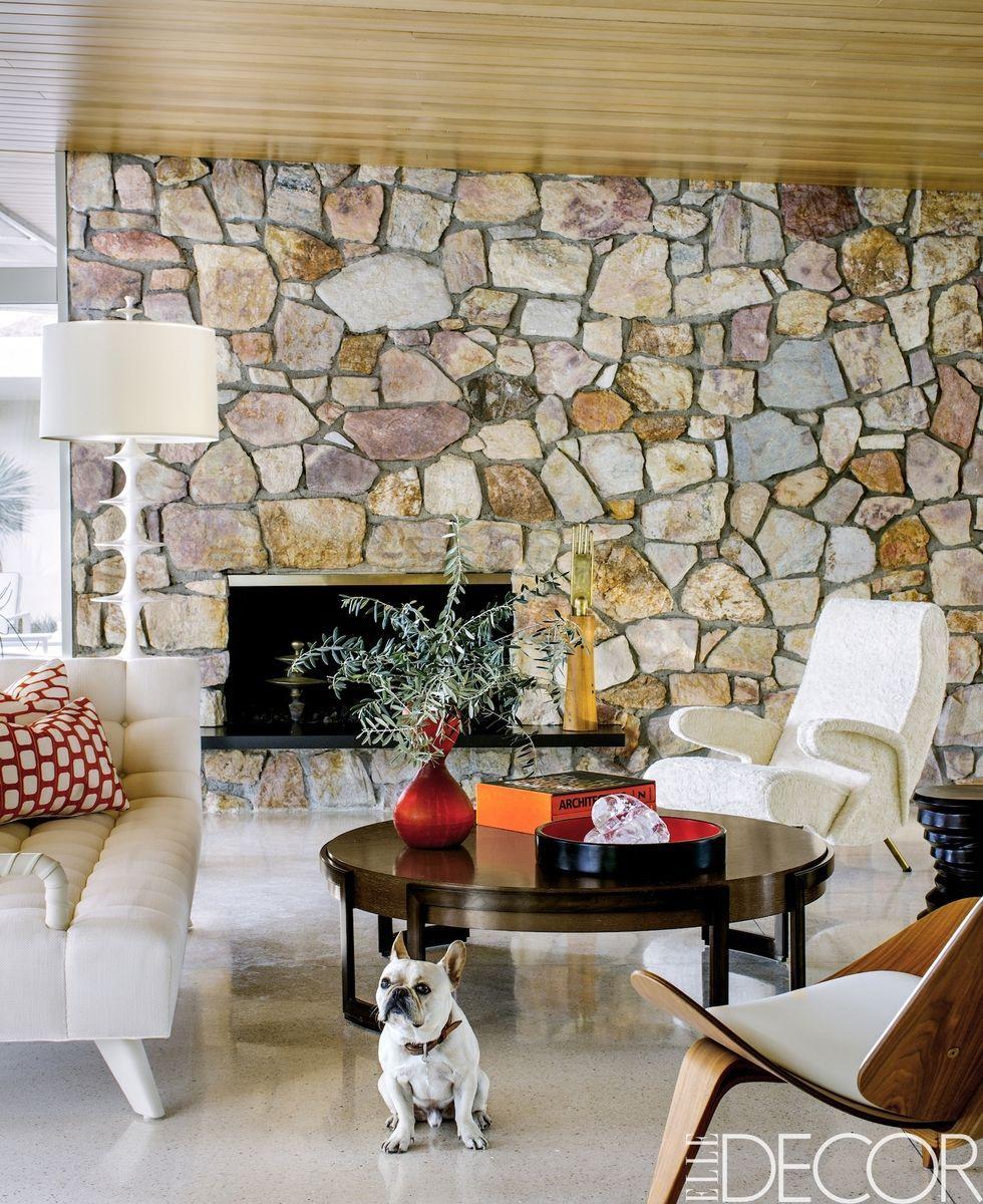 obj design mtl modern room models fireplace fbx model max living cgtrader interior