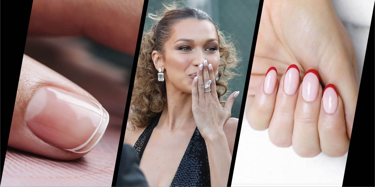 How To Wear The 90s French Manicure Now
